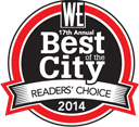 West Ender Reader's Choice Award 2014